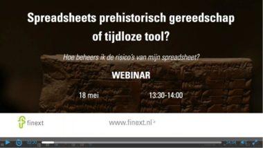 Video Webinar Spreadsheet