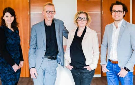 Naida Sadzak, Henk de Boer, Adinda te Veldhuis en Wesley Schulte