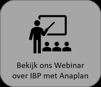 Webinar IBP met Anaplan